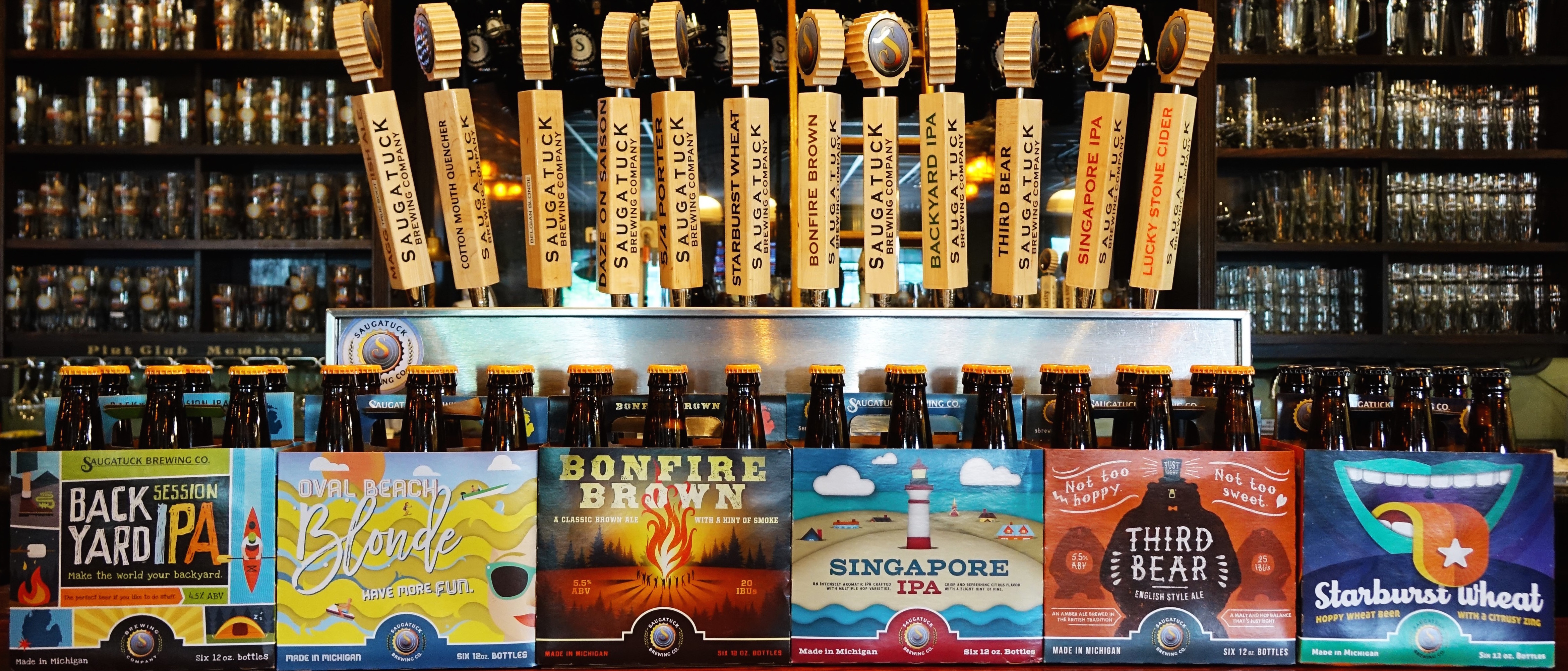 Saugatuck Brewing Company Gives Mainstay Beers A New Look With the Help of Revel